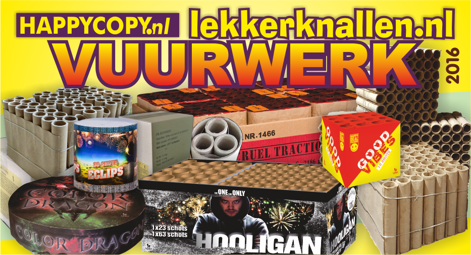 Natuurlijk Verkoop Lekkerknallen.nl Vuurwerk